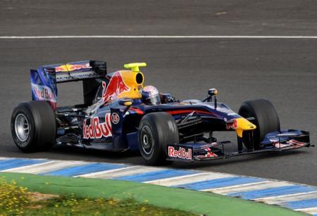 Red Bull usará el KERS en Malasia
