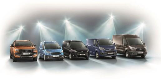 Ford Transit, los números uno en vehículos comerciales